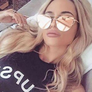 New⚡️Rose Gold Sunglasses: UV protection
